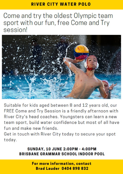 River City Water Polo poster
